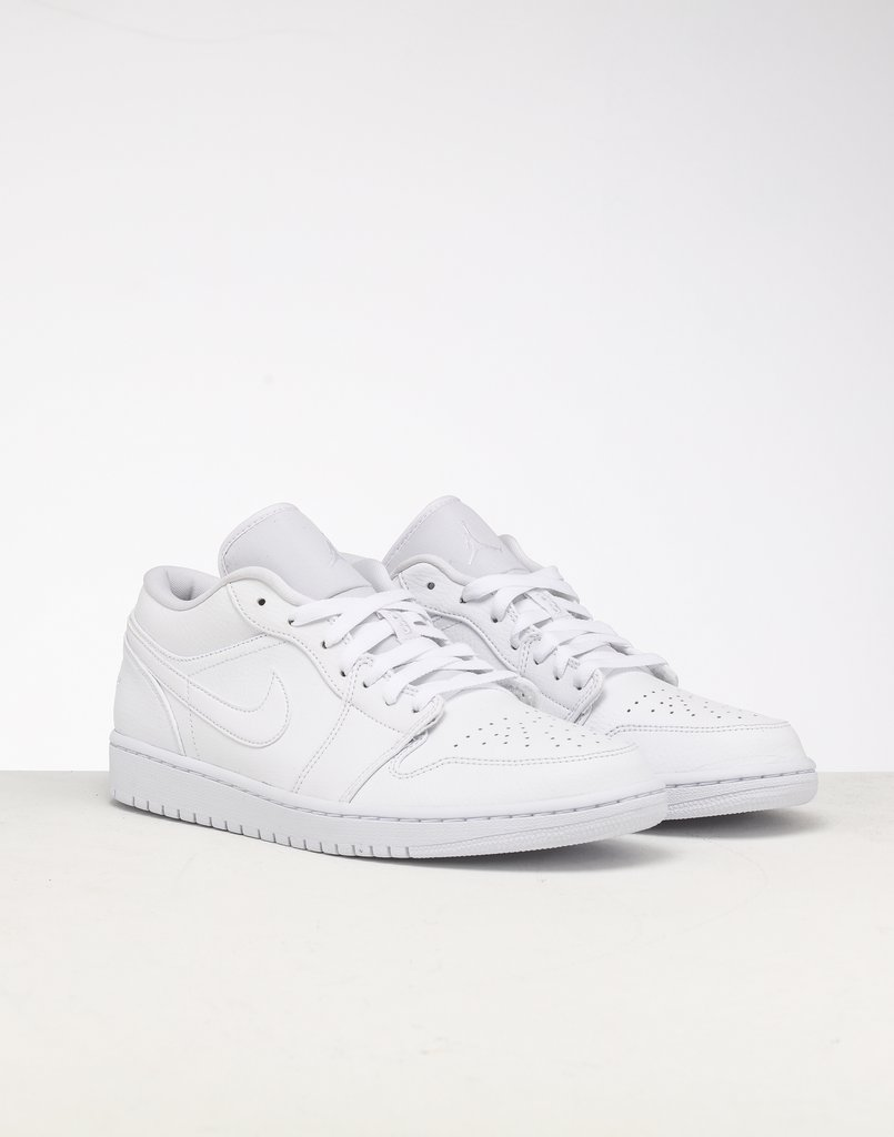 air jordan 1 low white
