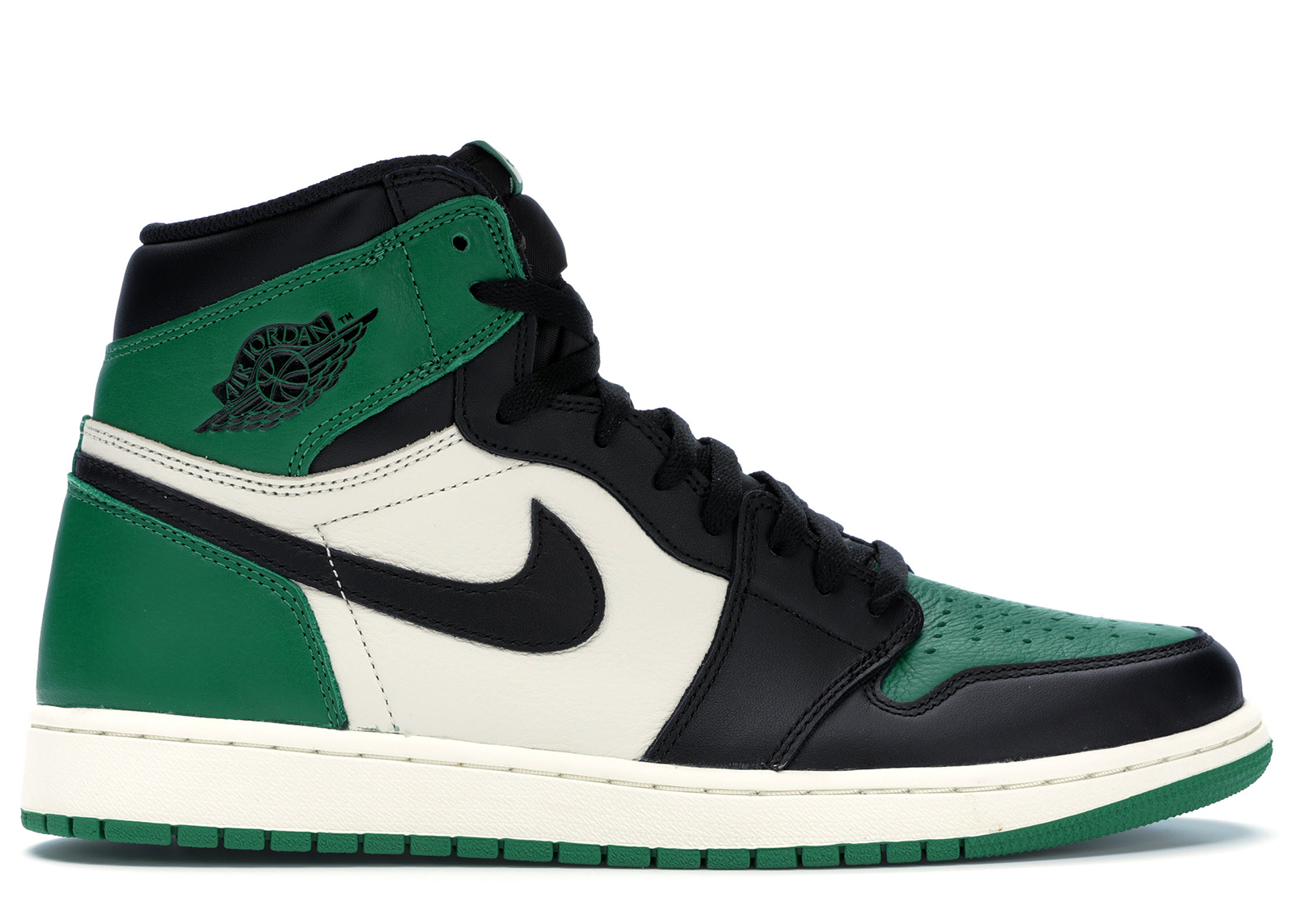 air jordan 1 retro high og pine green