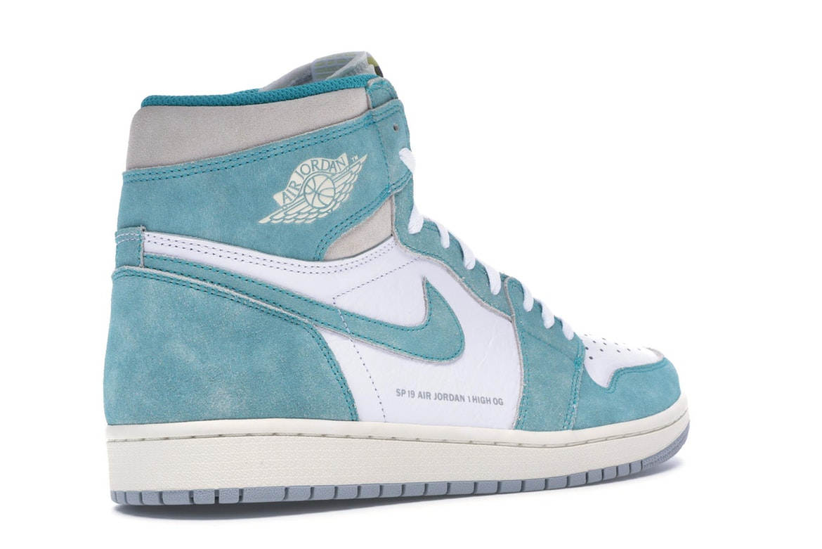air jordan 1 retro high og turbo green
