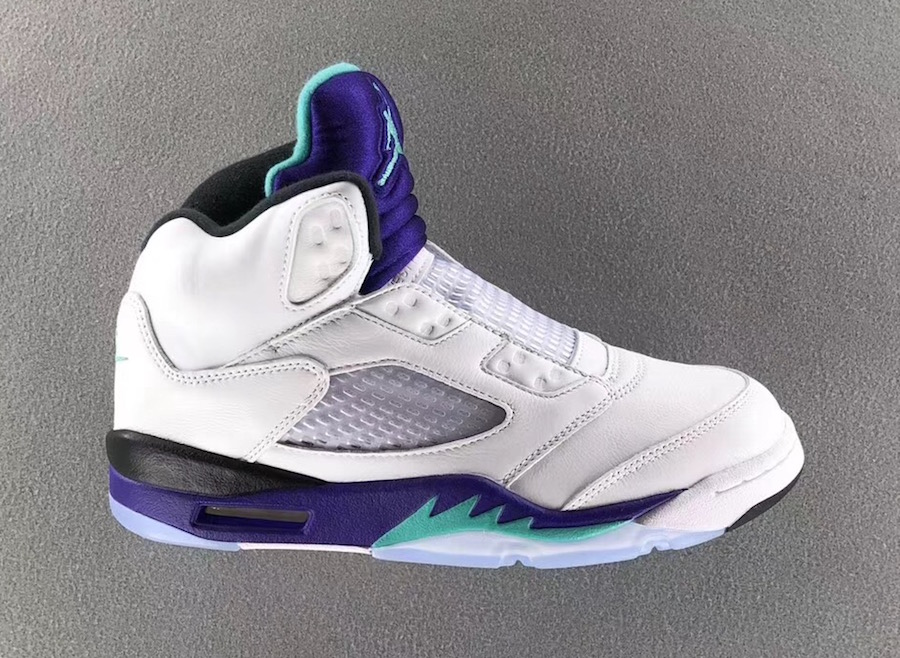 air jordan 5 grape