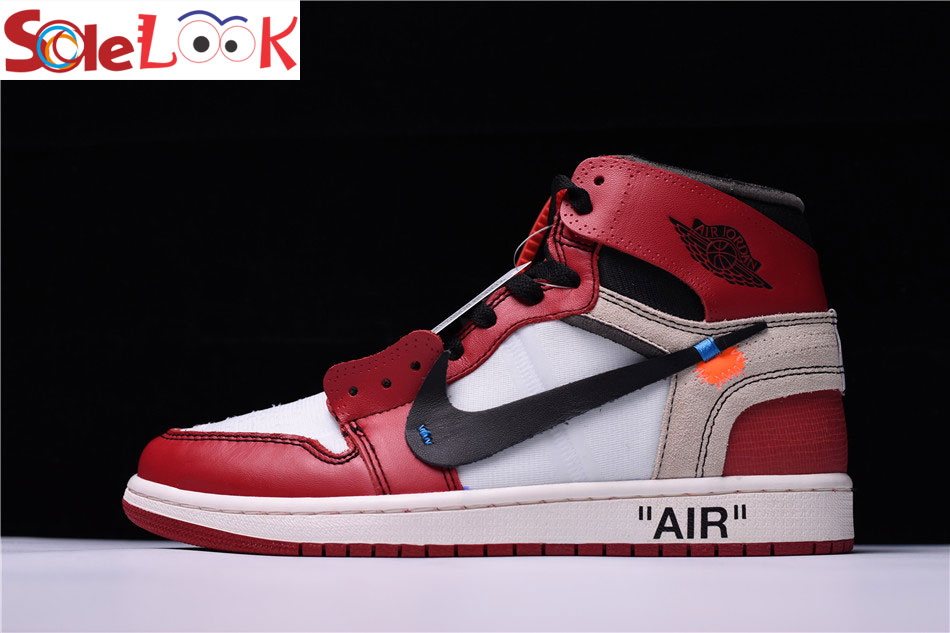 off white air jordan 1 chicago