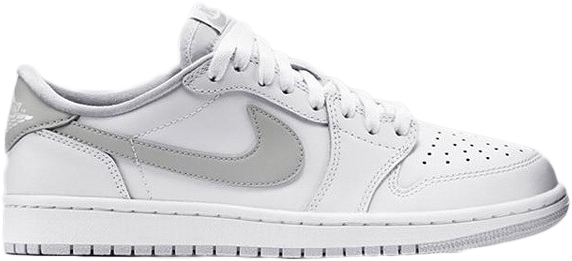 white air jordan 1 low